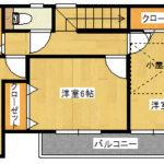 2階部分(間取)