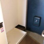 室内洗濯機置場(玄関)