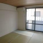 6帖和室 畳は入居時張替ます(居間)