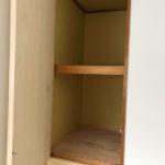 玄関収納は奥行があります。収納の扉も新品に変更予定です!