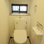 1階トイレも温水洗浄便座です