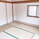 畳は入居決定後に取替え予定です。(寝室)