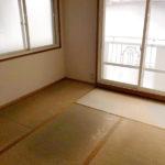 畳は入居時に入れ替えます。(内装)